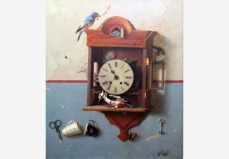 Часы и птицы