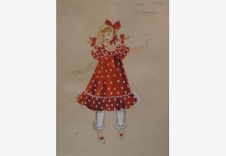 Театральный костюм Девочки