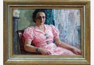 Портрет М.А. Савицкой