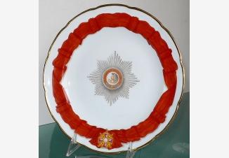 Тарелка. Сервиз Ордена Св. Александра Невского
