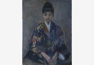 Портрет Нагаты Хисако, жертвы Хиросимы