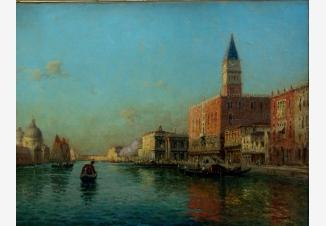 Дворец Дожей и Большой канал в Венеции