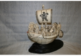 Окимоно Корабль счастья «Такарабунэ»