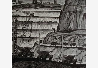 Этажи Лебедянского рудника