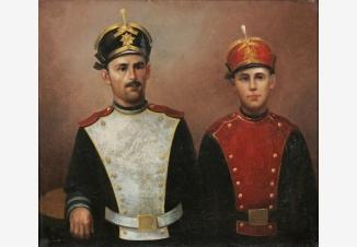 Портрет участников войны 1812г.