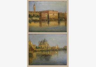 Виды Венеции (парные картины)