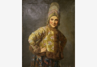 Русская девушка