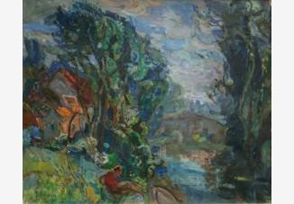 Пейзаж Бургундии