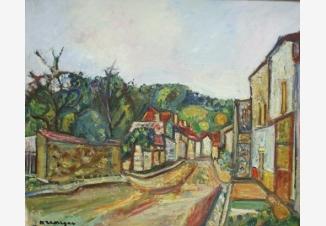Пейзаж Нуае-сюр-Серен