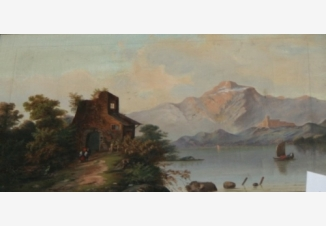 Дом на берегу озера