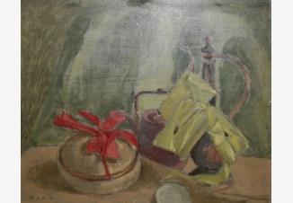 Натюрморт с бонбоньеркой