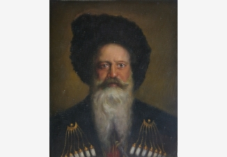 Портрет казака