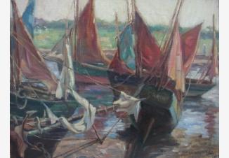 Маленький порт в Бретани