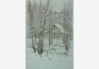Николина гора зимой