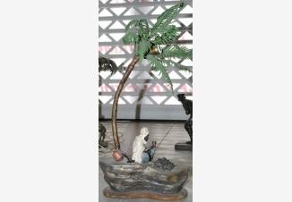 Лампа «Бедуин под пальмой у костра»
