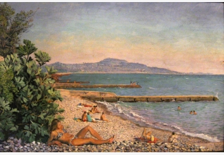 Новоафонский пляж
