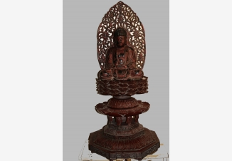Скульптура Будды Амиды (Шакьямуни)