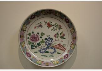 Тарелка настенная «Цветы»