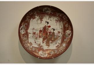 Тарелка настенная «Гейши»