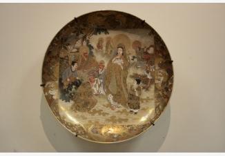 Тарелка настенная «Даосские бессмертные»