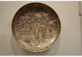 Тарелка настенная «Визит к Даймье»