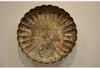 Тарелка настенная»Архаты и Даосы»