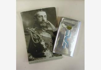 Портсигар К.К. Великого Князя- Константина Константиновича Романова