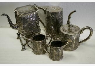 Сервиз чайно-кофейный в стиле шинуазри