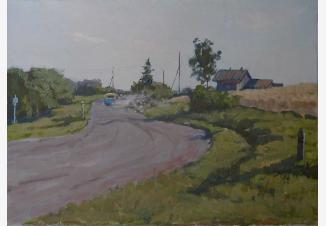 Дорога в Леонтьево