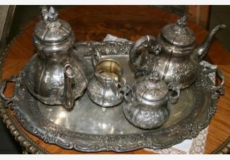 Сервиз чайный в стиле бидермейер