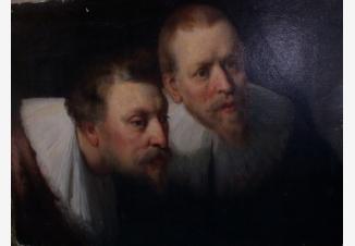 «Портрет врачей» (фрагмент картины Рембрандта 1672 г.)