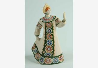 Русский танец — советская фарфоровая статуэтка