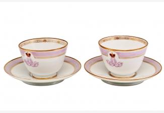 Пара кофейных чашек