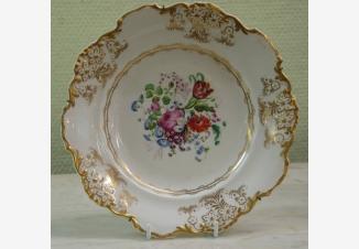 Декоративная тарелка. Николай I.