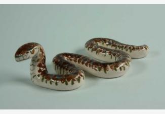 Змея — советская фарфоровая статуэтка