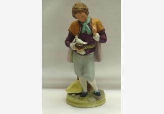 Статуэтка «Мальчик с голубем»