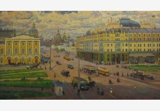 Москва в прошлом