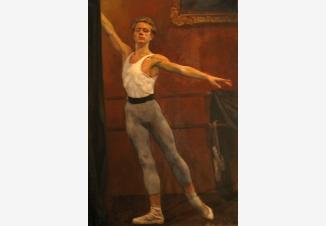 Танцор балета (М. Барышников)