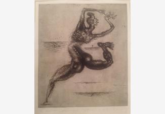 Литография из альбома «Анатомия чувств»