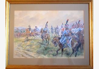 Наполеон со своей охраной