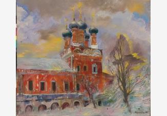 Новодевичий зимой