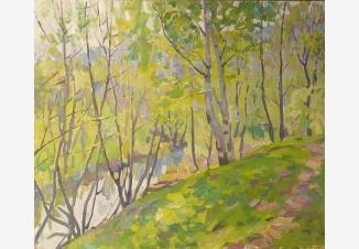Первая зелень (река Чермянка)